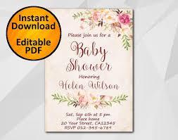 etsy invitations baby shower stephenanuno