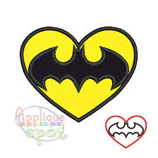 batman valentines batman logo s day heart baby boy 4x4 5x7 6x10