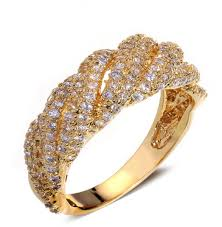 wedding ring in dubai buy 18k gold plated wedding ring rings uae souq