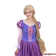 timecosplay disney tangled princess rapunzel cosplay wigs