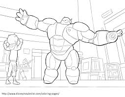 disney u0027s big hero 6 coloring pages sheet free disney printable