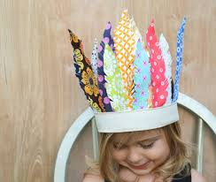 fabric feather headdress how adorable is this its so easy to