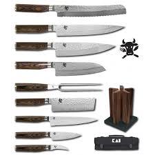 kai shun premier tim mälzer set of kitchen knives