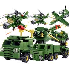 lego army tank kazi toys military army building blocks diy 6pcs world war weapons