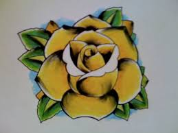 robert downey pictures of yellow rose tattoos