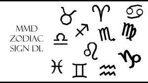 mmd zodiac signs dl by innaaleksui on deviantart