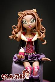 high cake topper high cake topper clawdeen wolf cakecentral
