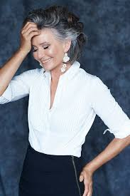 good grey hair styles for 57 year old style is truly ageless agelessbeauty http ncnskincare com