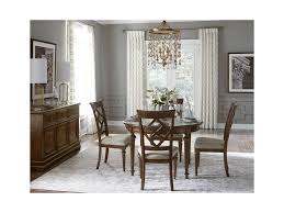 legacy classic latham round dining table with turned legs