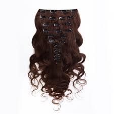 clip on extensions suprema 100 real human remy hair clip on extensions 7pc wavy set