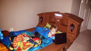 Pirate Ship Bedroom by On A Lighter Note The Pirate Ship Bed It Sank