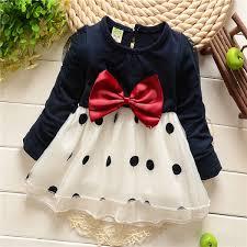 1 5y baby girls princess cute polka dot tutu party dress bow kids