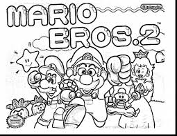amazing mario printable coloring pages with super mario coloring
