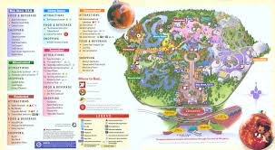 Map Of Walt Disney World by Walt Disney World Disney World Vacation Information Guide