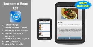 kitchen recipe app by jodevapp codecanyon