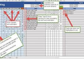 resource capacity planning excel template free and resource