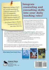 Counseling Skills For Teachers Counseling Skills For Teachers Amazon Co Uk Jeffrey A Kottler