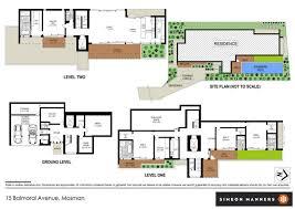 balmoral floor plan house sold 15 balmoral avenue mosman