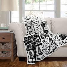 paris france flannel throw blanket cool room ideas pinterest