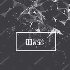 Futuristic Style Abstract Vector Background Futuristic Style Card Background For