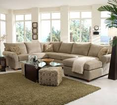 U Shaped Sectional With Chaise Elegant Chenille Sectional Sofa With Custom Sectional Sofa