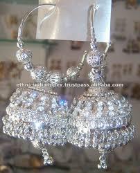 jhumka earrings silver hoop jhumka earrings buy silver jhumka earrings indian