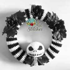 nightmare before christmas wreath my own design love to be in