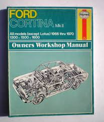 ford cortina mark 2 owner u0027s workshop manual amazon co uk j h