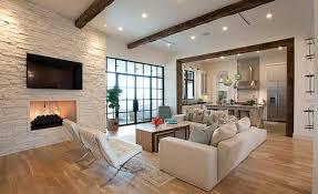 Open Plan Kitchen Living Room Flooring Modern Living Room Designs With Open Plan Kitchens Note Fire Under