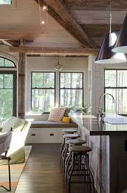 Home Design Center Boston Rustic Lake House