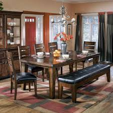 Ashley Furniture Dining Room Dining Tables Kitchen Table With Bench Ashley Furniture Dining