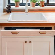 kitchen sink cabinet tray how to install a sink tip out tray for storage the of
