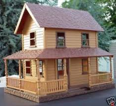 Farmhouse With Wrap Around Porch 2 Story Farm House With Wrap Around Porch 1 32 1 24 Ebay