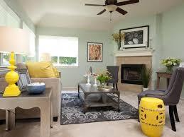grey yellow green living room photo page hgtv