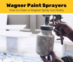 can you use a paint sprayer to paint kitchen cabinets how to clean a wagner paint sprayer 6 step guide pro