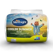 Silent Night Duvet Buy Silentnight Cooler Summer 4 5 Tog Duvet King From Our Double