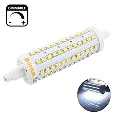 led replacement bulbs for halogen lights bonlux 10w r7s 118mm double ended led light bulb dimmable cool white