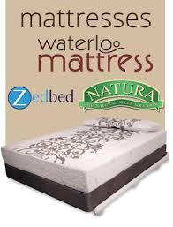 waterloo mattress custom coil and foam mattresses bedding and