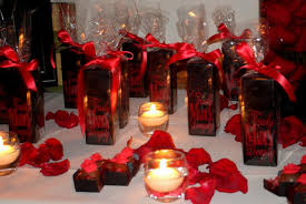 wedding centerpiece ideas red decorating of party