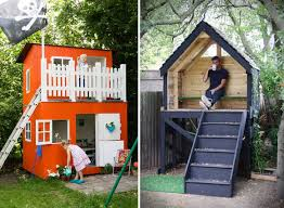 Backyard Playhouse Plans by Childrens Playhouse Plans Play House
