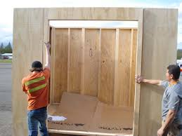 garden shed johnston contracting services prefabrication