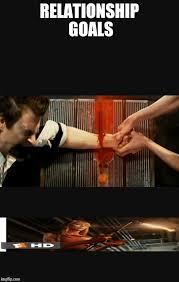 Relationship Goals Meme - relationship goals cabin fever 2 imgflip