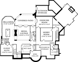 Luxury House Plans With Basements by 8 Best Floor Maps Images On Pinterest Floor Plans Luxury Estate