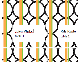 free place card template modern clementine merriment design