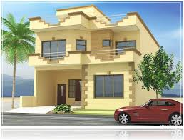 new beautiful house design 3d front elevation pakistan 2016