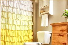 Ruffled Shower Curtain White Ruffled Shower Curtain Ideal Tips For Ruffled Shower