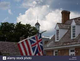 The Grand Union Flag Watchtower Looks Over British American Flag Also Know As The