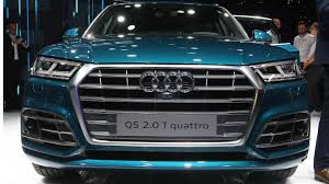 Audi Q5 Horsepower - 2016 paris motor show 2017 audi q5 looks exactly how it should