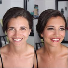 airbrush makeup before and after by sugarandspiceartistry com