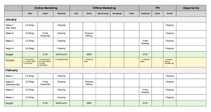 small business marketing plan template small business marketing